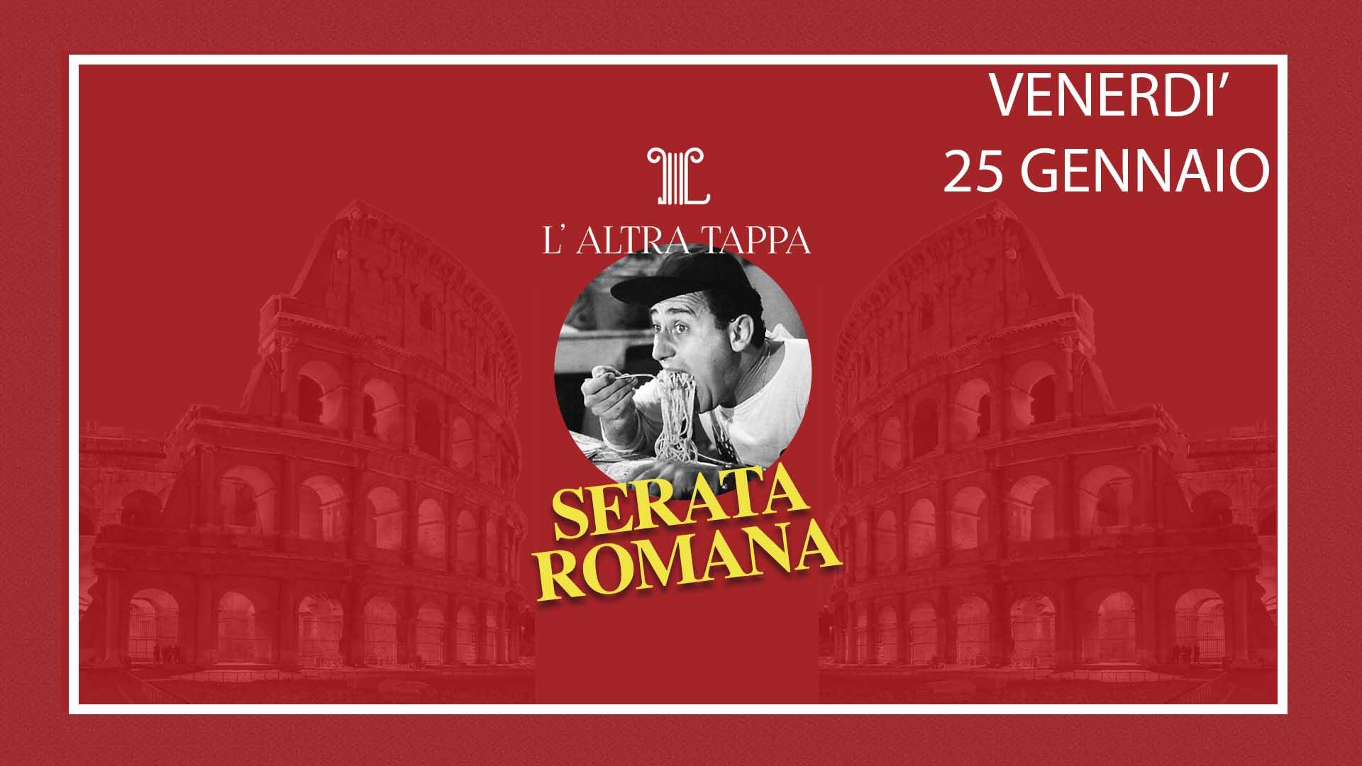 L'altra tappa - Serata romana evento 25 gennaio
